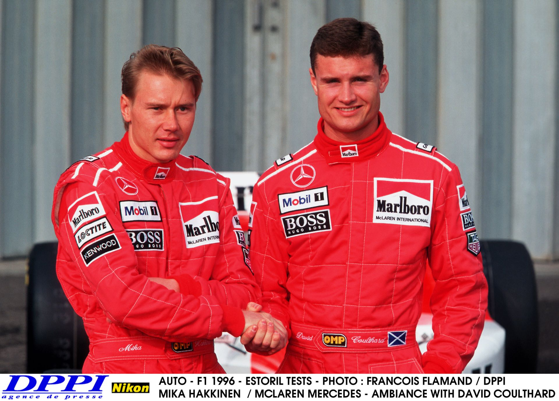 David Coulthard ezen a napon vonult vissza: Mika Hakkinen hű csapattársa