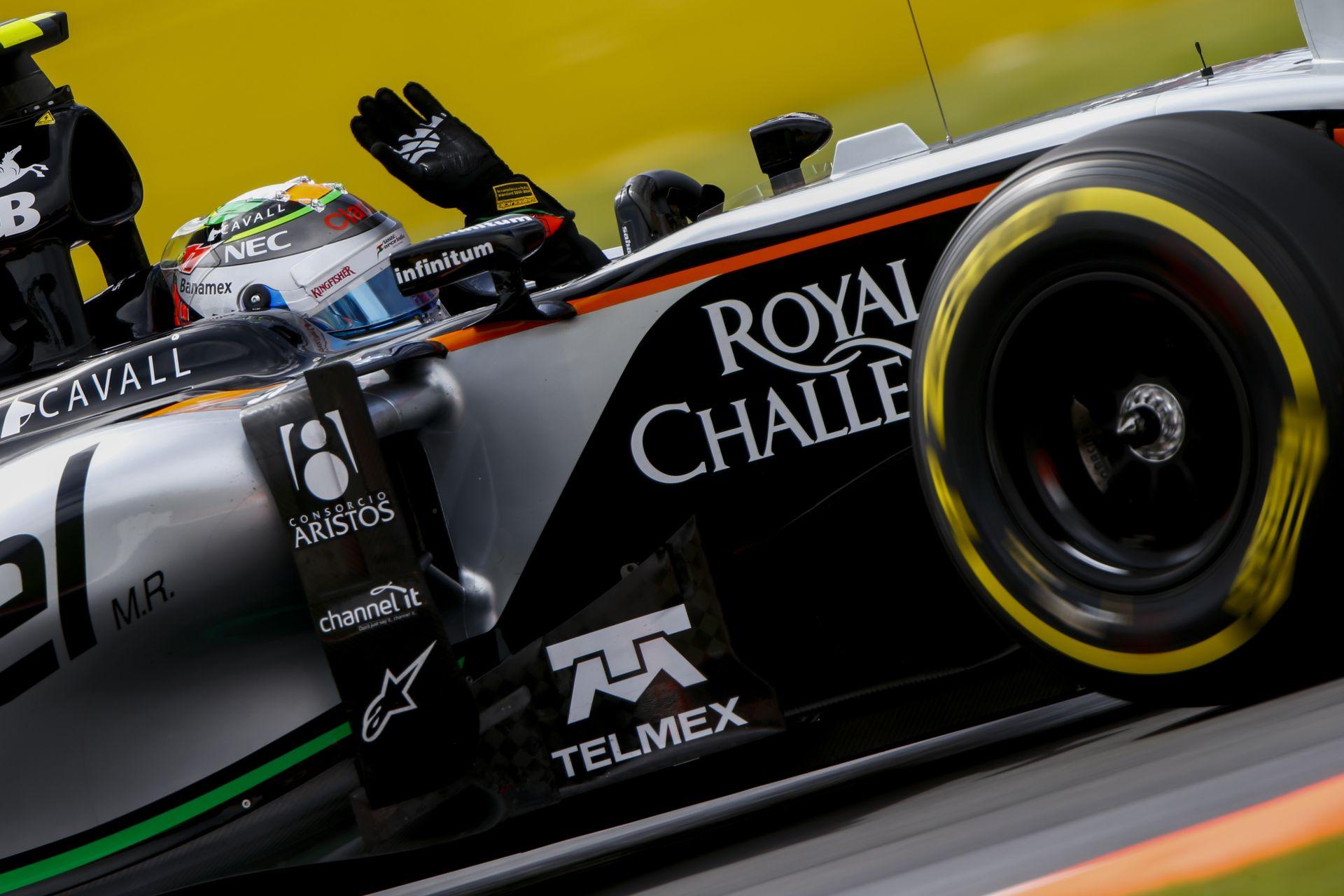 A Force India számára komoly bók, hogy érdeklődik az Aston Martin