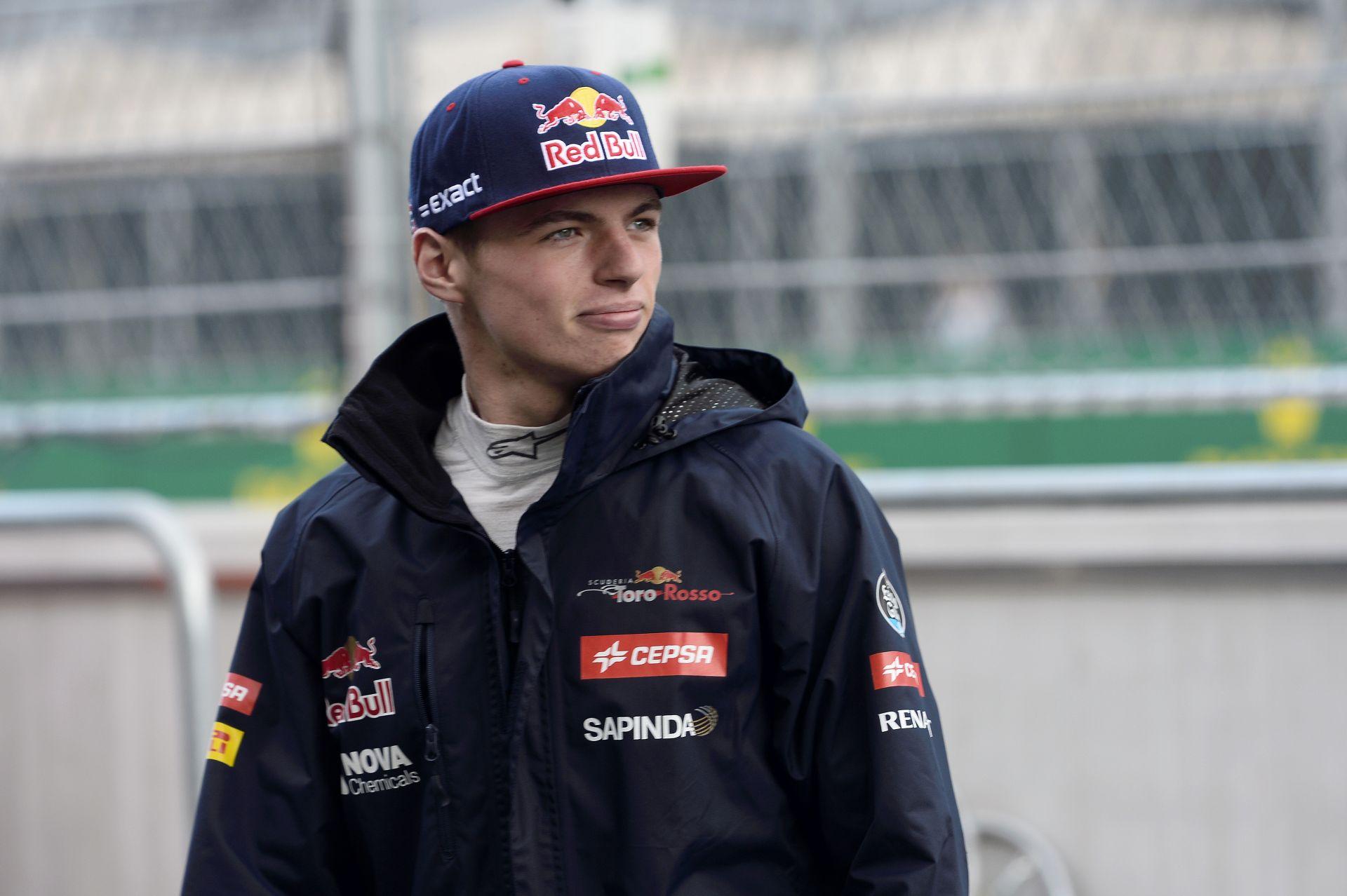 Max Verstappen még izgulni is elfelejtett élete első Forma-1-es versenyén!