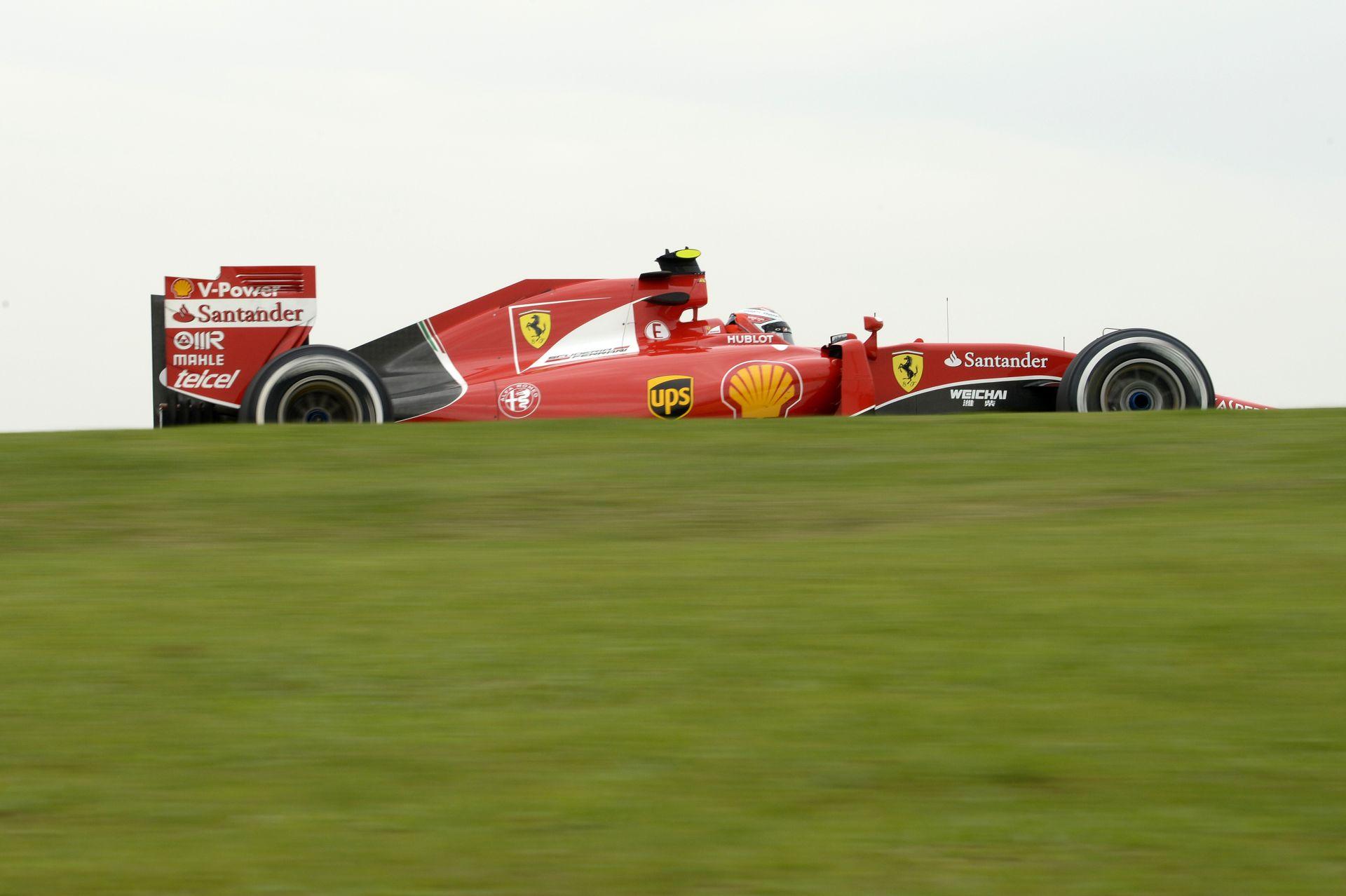 Raikkönen ma végig csak szenvedett a Ferrarival Brazíliában