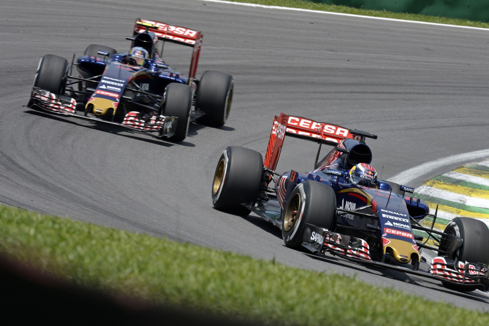 Toro Rosso: Verstappen megint több volt, mint jó! Sainz már a Q2-ben kiesett