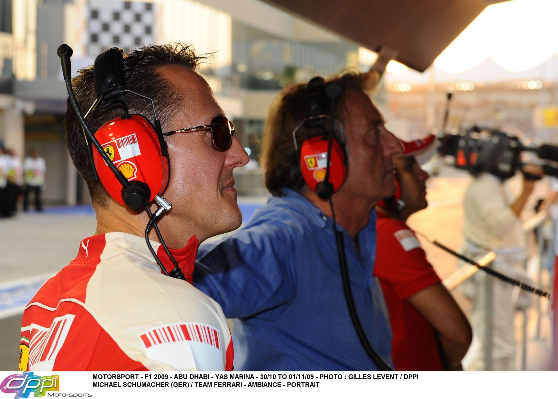 """Montezemolo: """"Ijesztő így látni Schumachert…"""""""