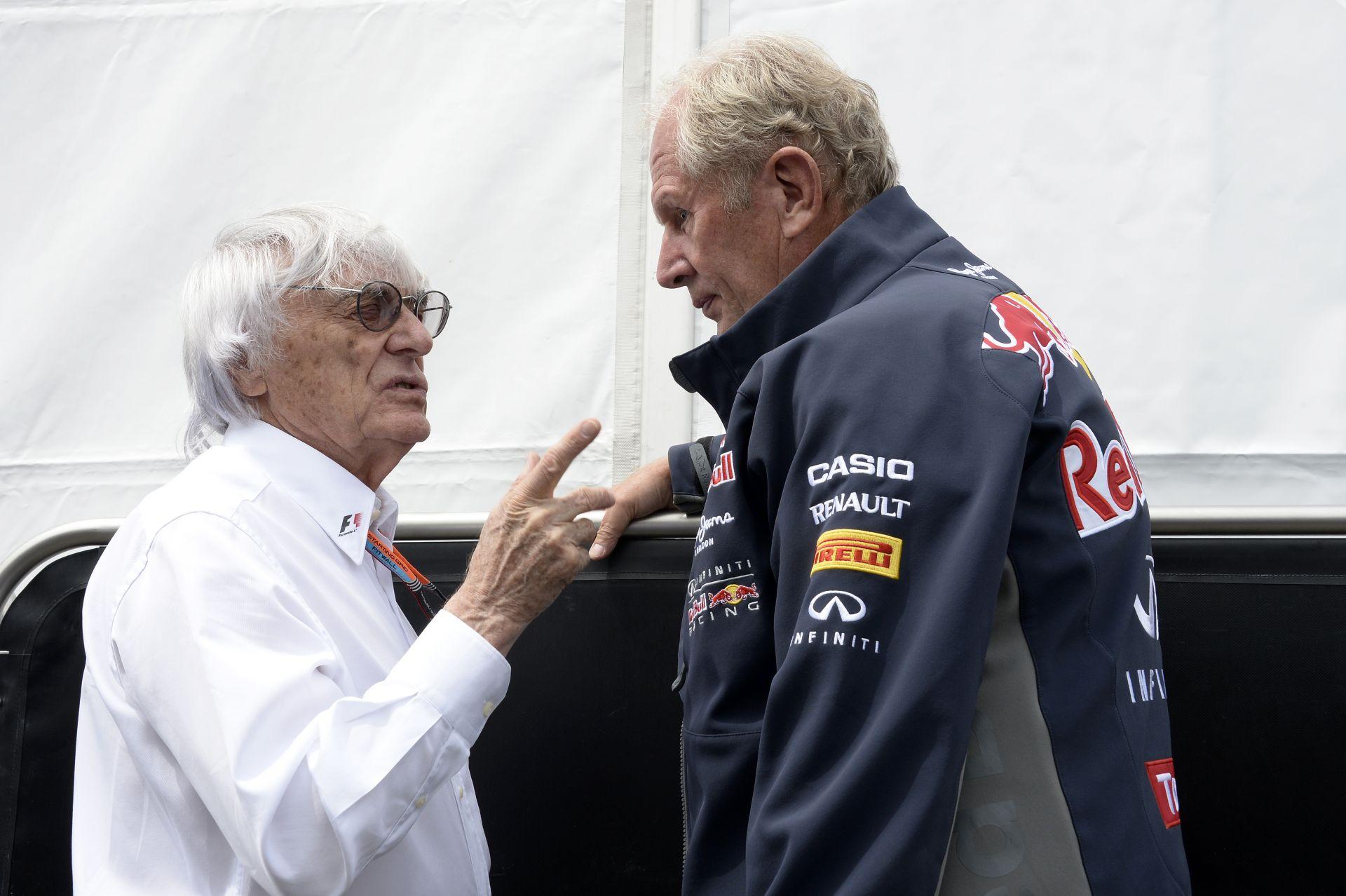 """Most Ecclestone-on a sor - az """"öreg"""" rajta van, hogy meggyőzze a Ferrarit a Red Bullért!"""