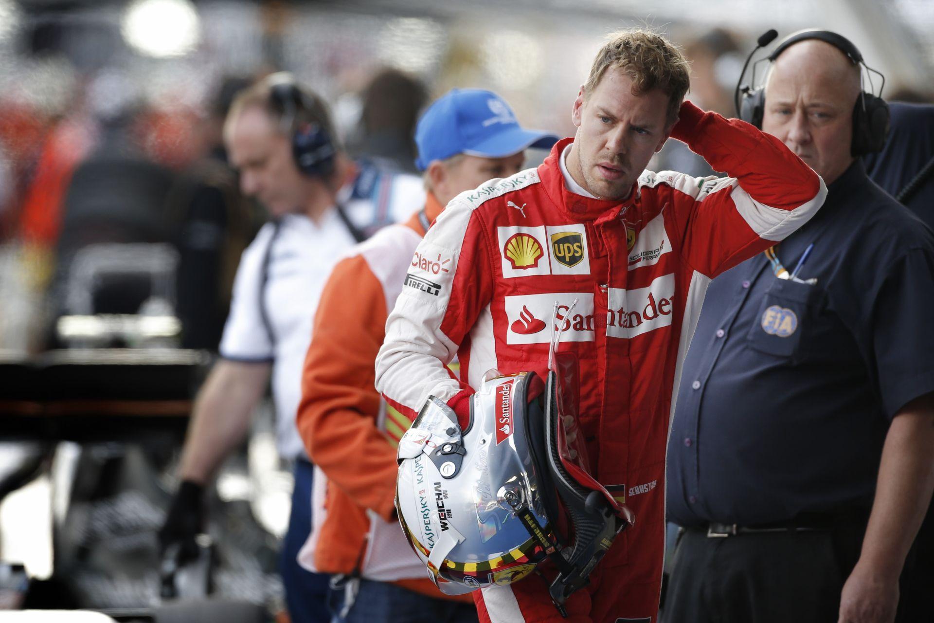 """Vettel: """"Jövőre már valóban a Mercedes kihívói lehetünk"""""""