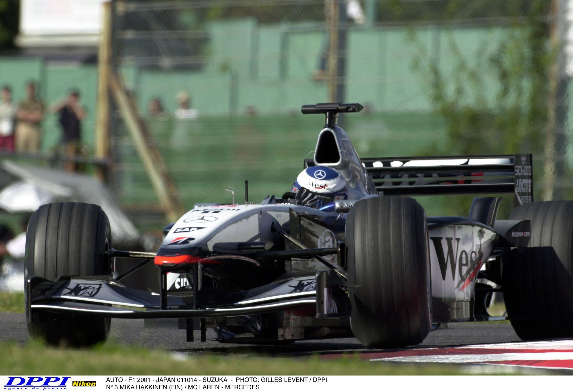 Egy szomorú nap a Forma-1-ben: Mika Hakkinen utolsó versenye