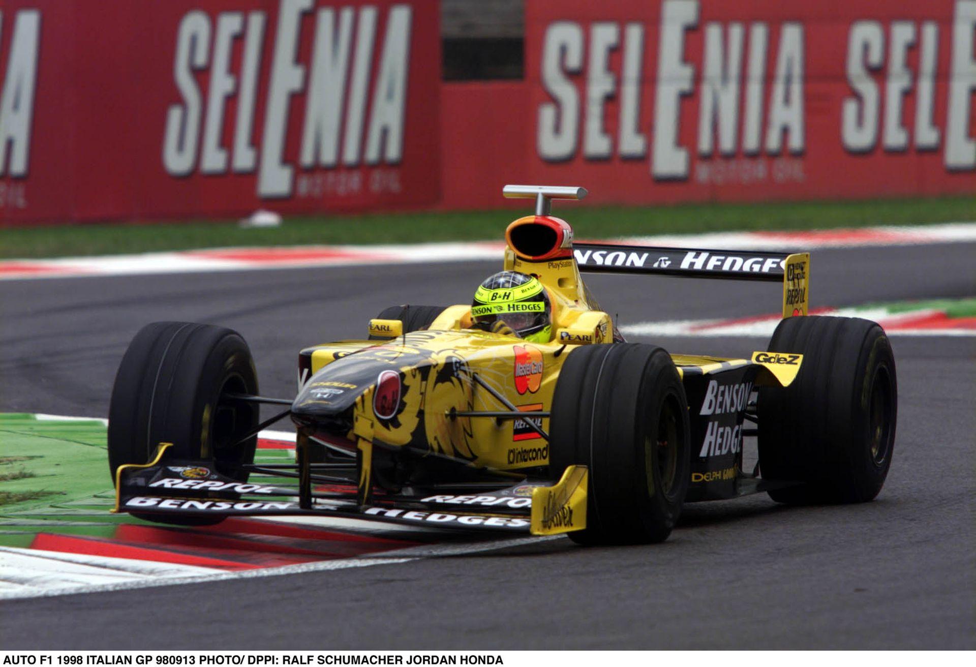 Egy legendás csapat búcsúja a Forma-1-ből: Jordan Grand Prix