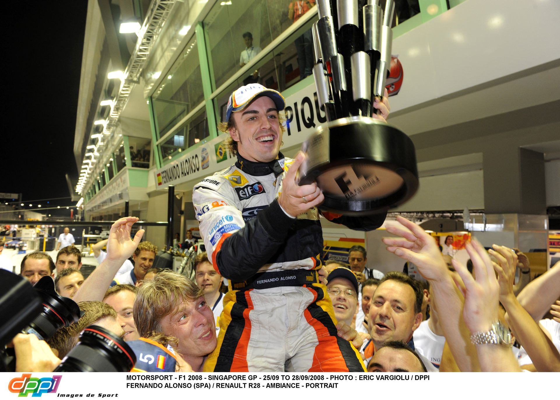 """Alonso: """"Kétszer már nyertem Szingapúrban…"""""""