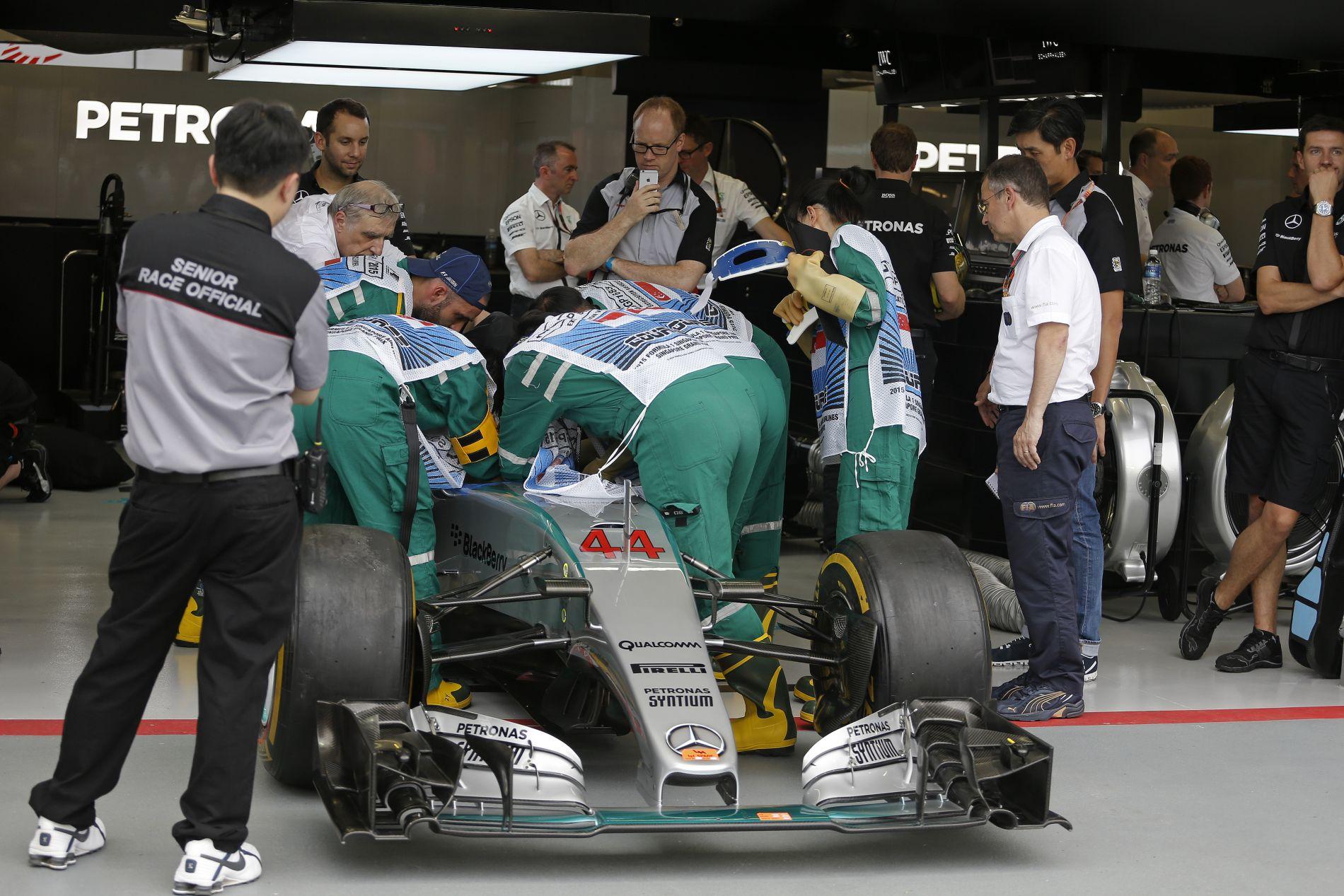 Megvan, mikor fogják mérni az abroncsnyomást az F1-ben: halleluja!