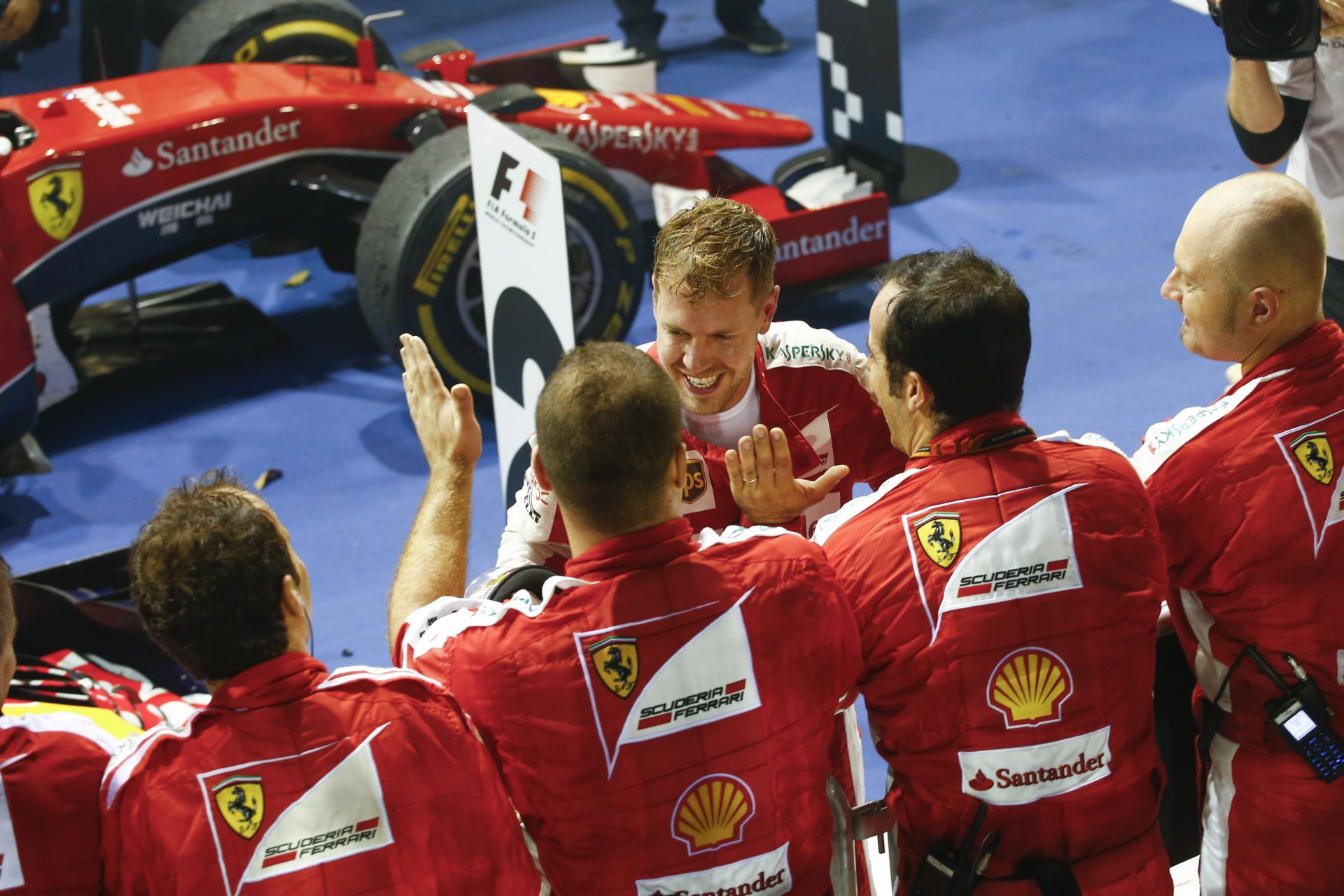 Ha ezen a hétvégén Japánban is elől lesz a Ferrari, megnyerheti a bajnokságot