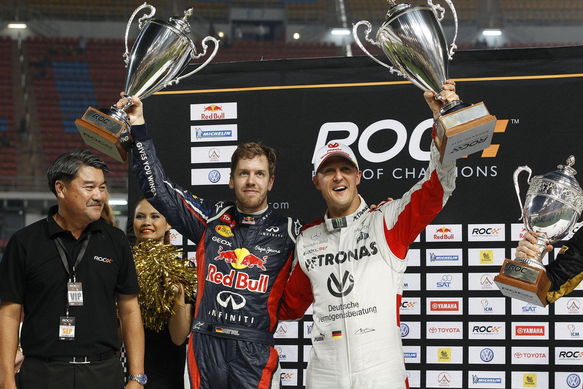 Schumacher és Vettel két teljesen más személyiség, lehetetlen a fair összehasonlítás