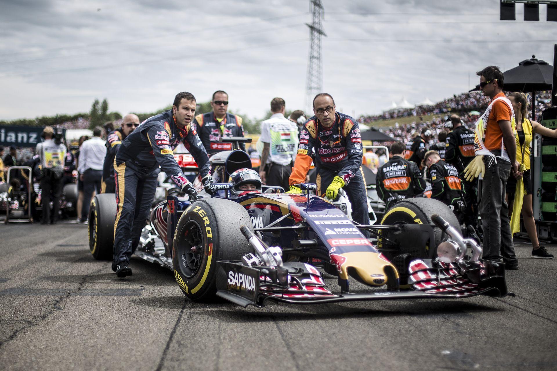 Toro Rosso: Verstappen és Sainz nyugodtan ütközzenek csak, megbocsájtjuk!