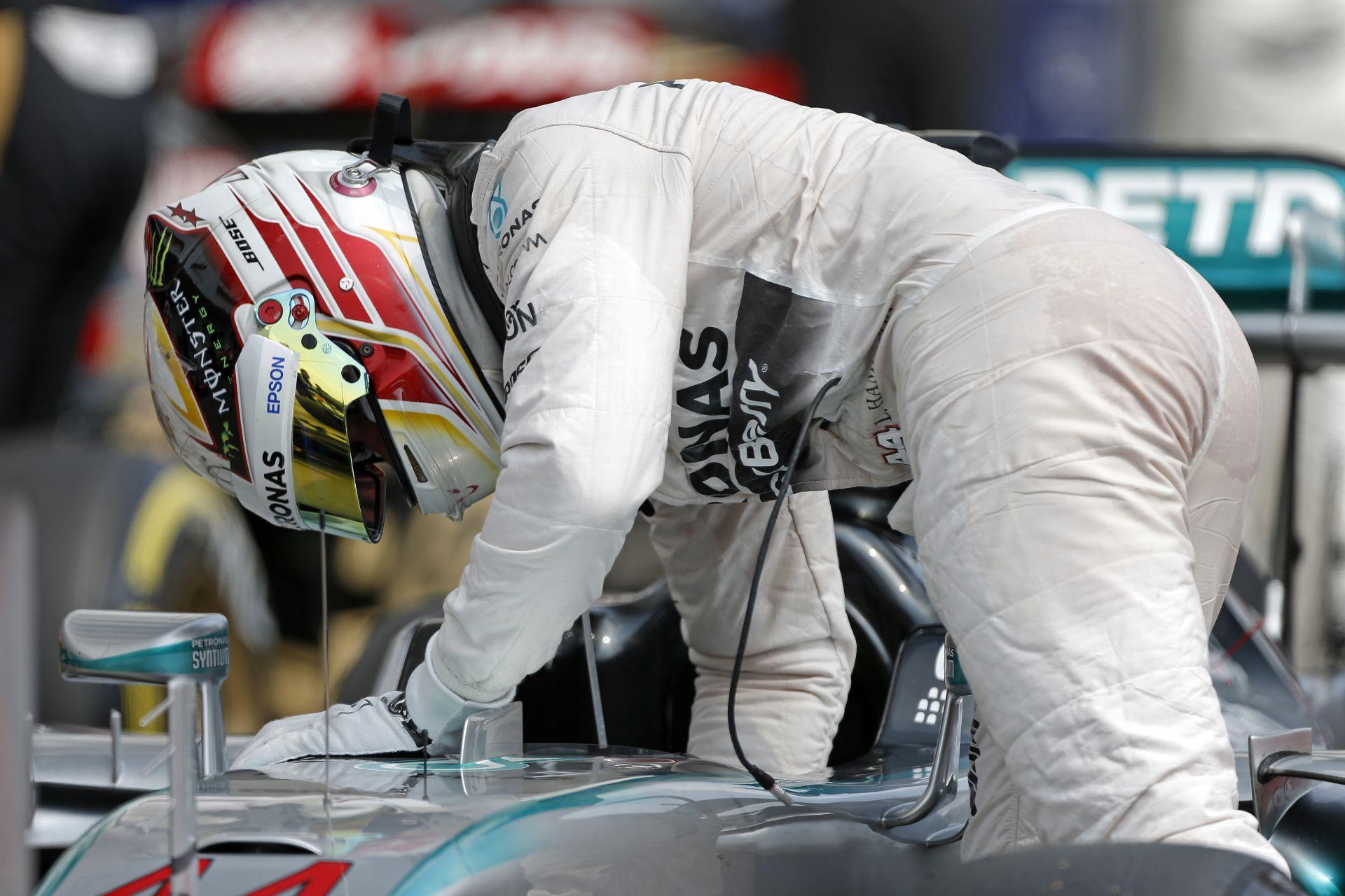 Hamilton nagyon behúzná a Belga Nagydíjat a nagyon csalódást keltő hungaroringi futam után