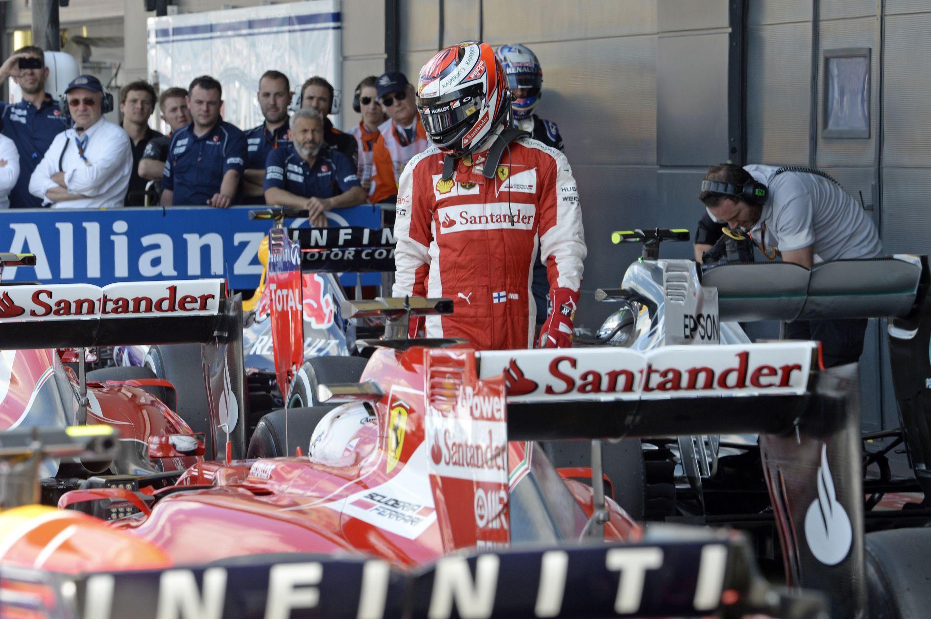 Raikkonenhez közelebb áll Vettel vezetési stílusa, mint Alonsóé