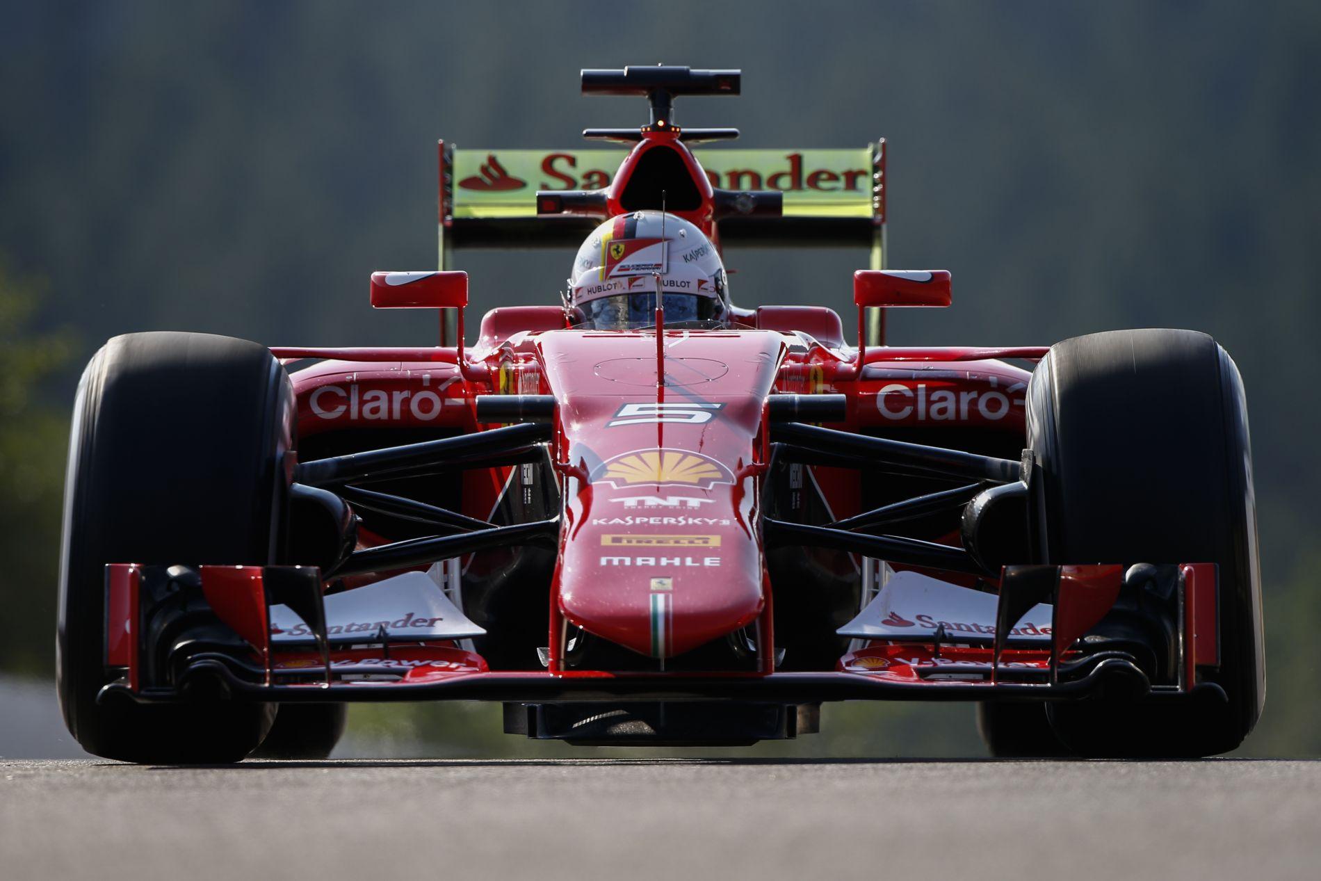 Vettelt is meglepte, hogy csak a 9. helyen végzett a belga időmérőn