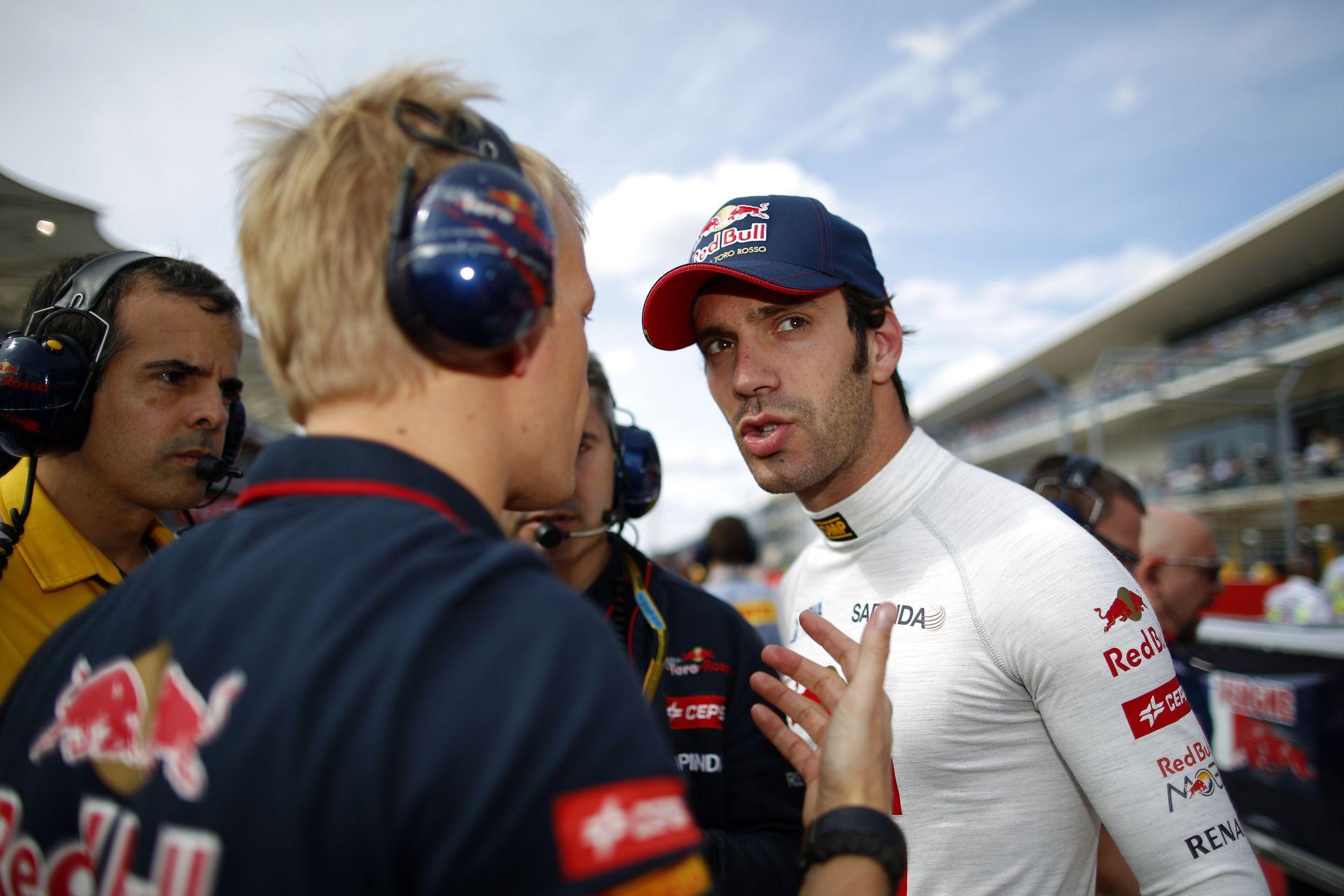 Vergne: 2015-ben is a Forma-1-ben fogok versenyezni!