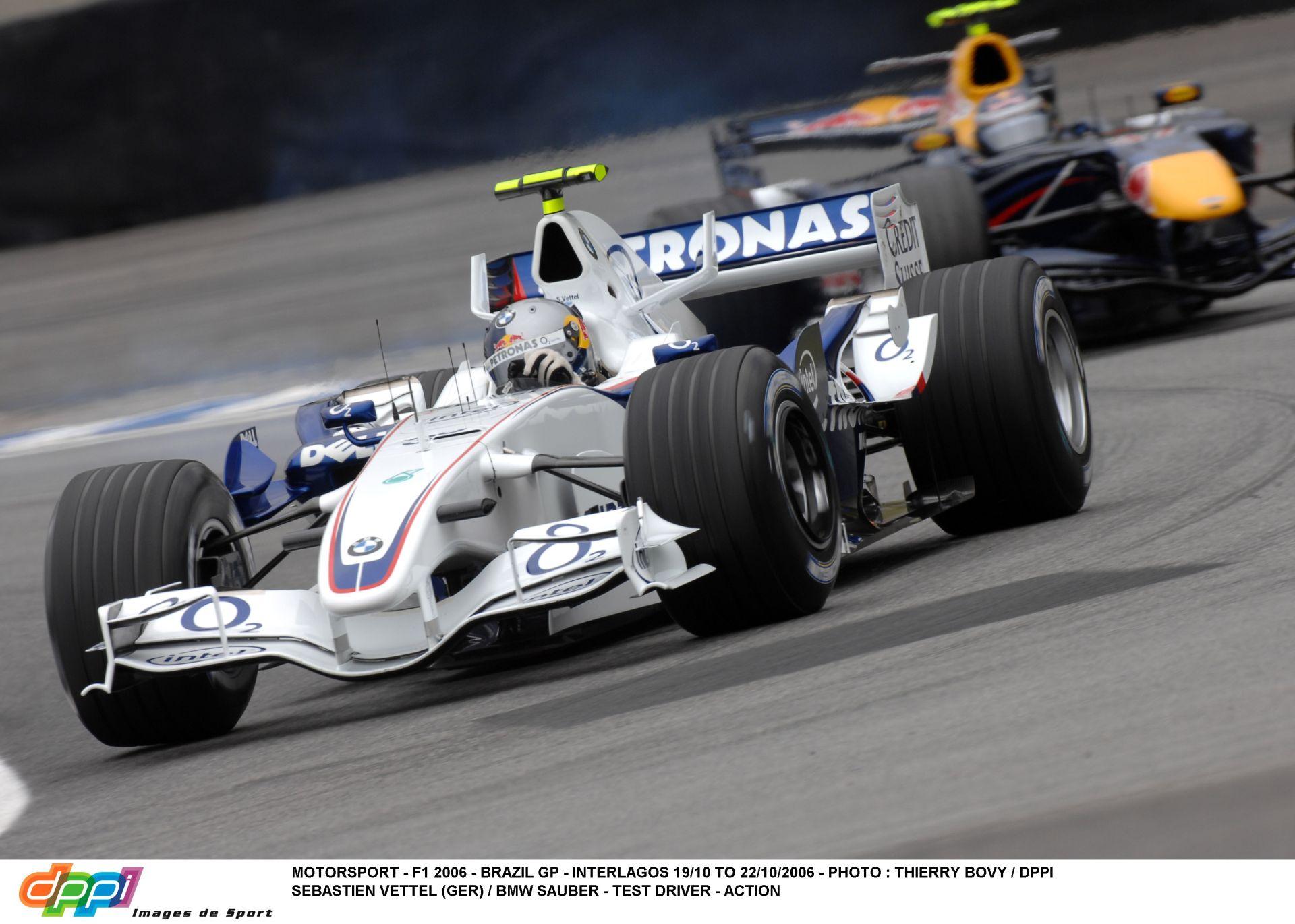 Vettel és a kezdetek: A BMW F1-es gépének volánja mögött – 2006