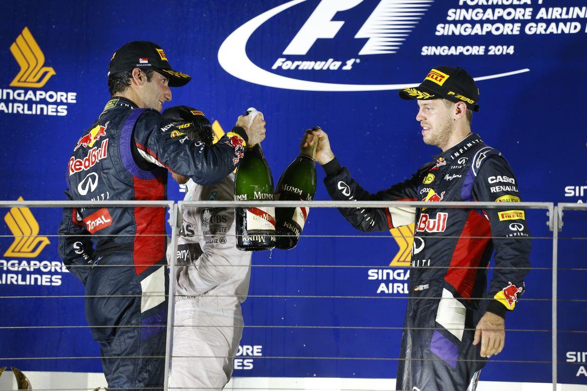 Vettel nem menekül valaki/valami elől: meg kell ragadni a lehetőséget, ezt tette
