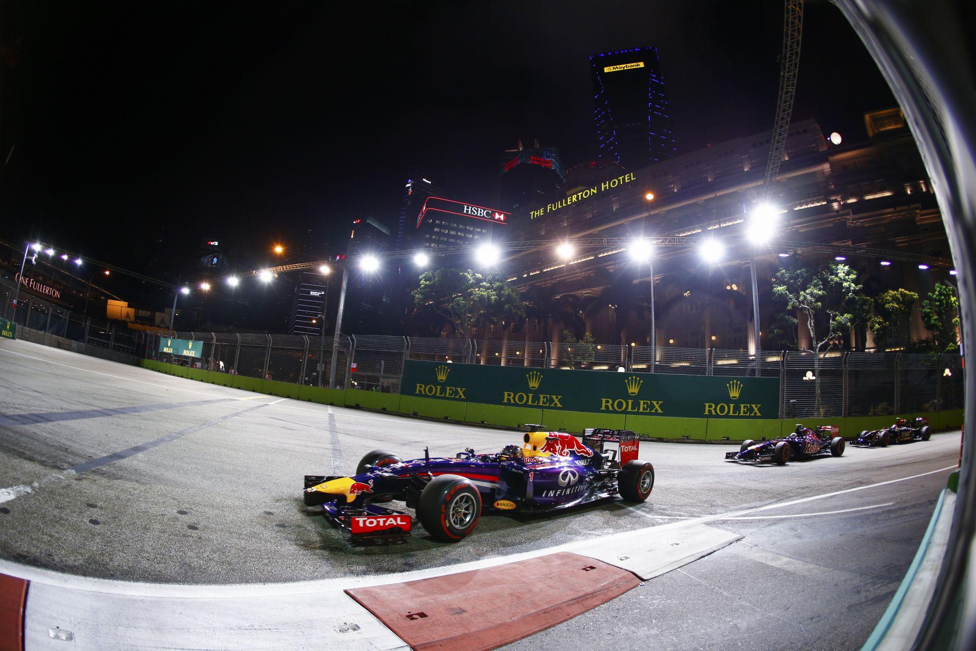 A Szingapúri Nagydíj a változtatásoknak köszönhetően idén több előzést hozhat!
