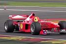 Michael Schumacher ex-F1-es Ferrarija: Brutálisan jól szól a V10