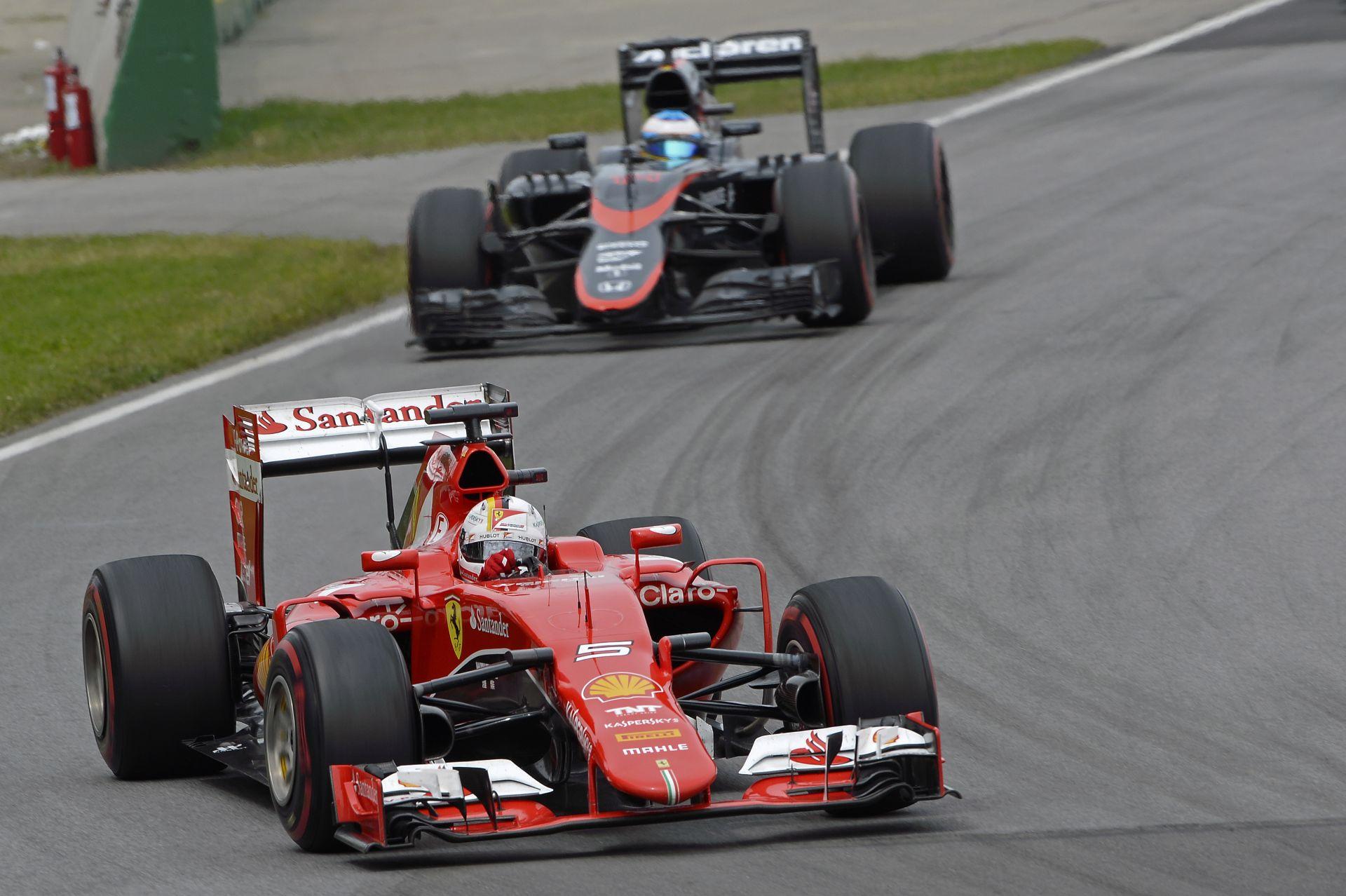 Vettel elismeri: kicsit ravaszabb is lehetett volna Alonso előzésénél