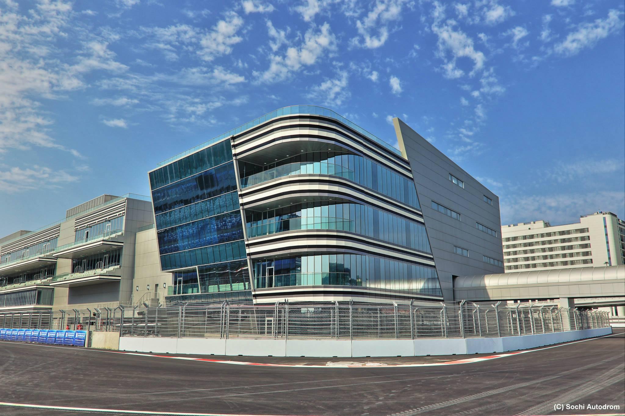 Új képeken az orosz F1-es pálya: Szocsi elkészült a helyszínnel