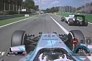 Hamilton előzése Massa ellen Monzában: Közel 360 km/órával közelít Lewis