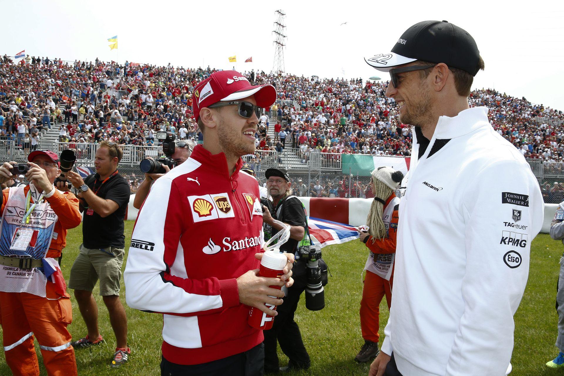 Button: Úgy tűnt, Raikkönen egyszerűen elvesztette az uralmát a Ferrari felett