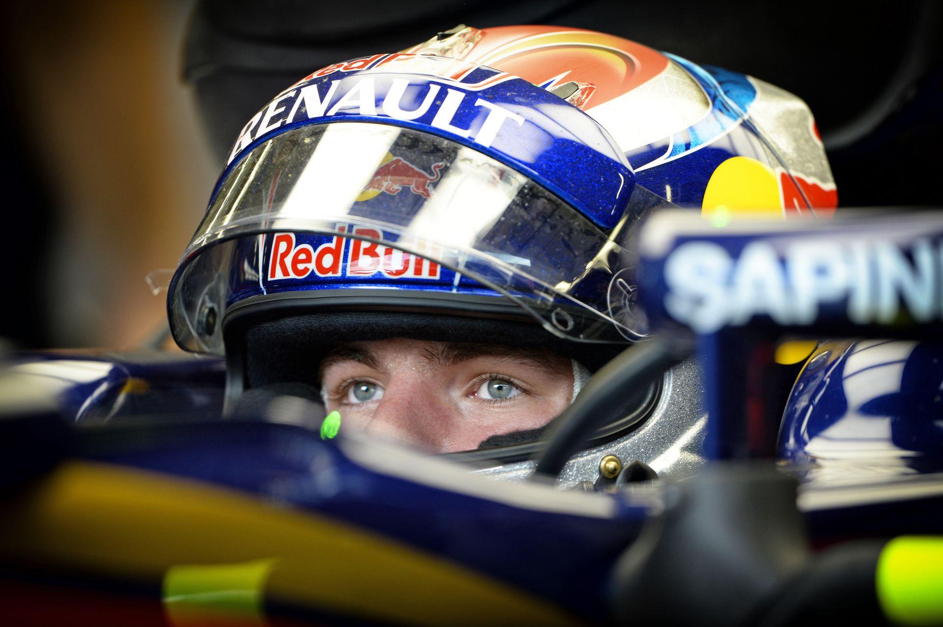Max Verstappen, aki biztos, hogy Forma-1-re született