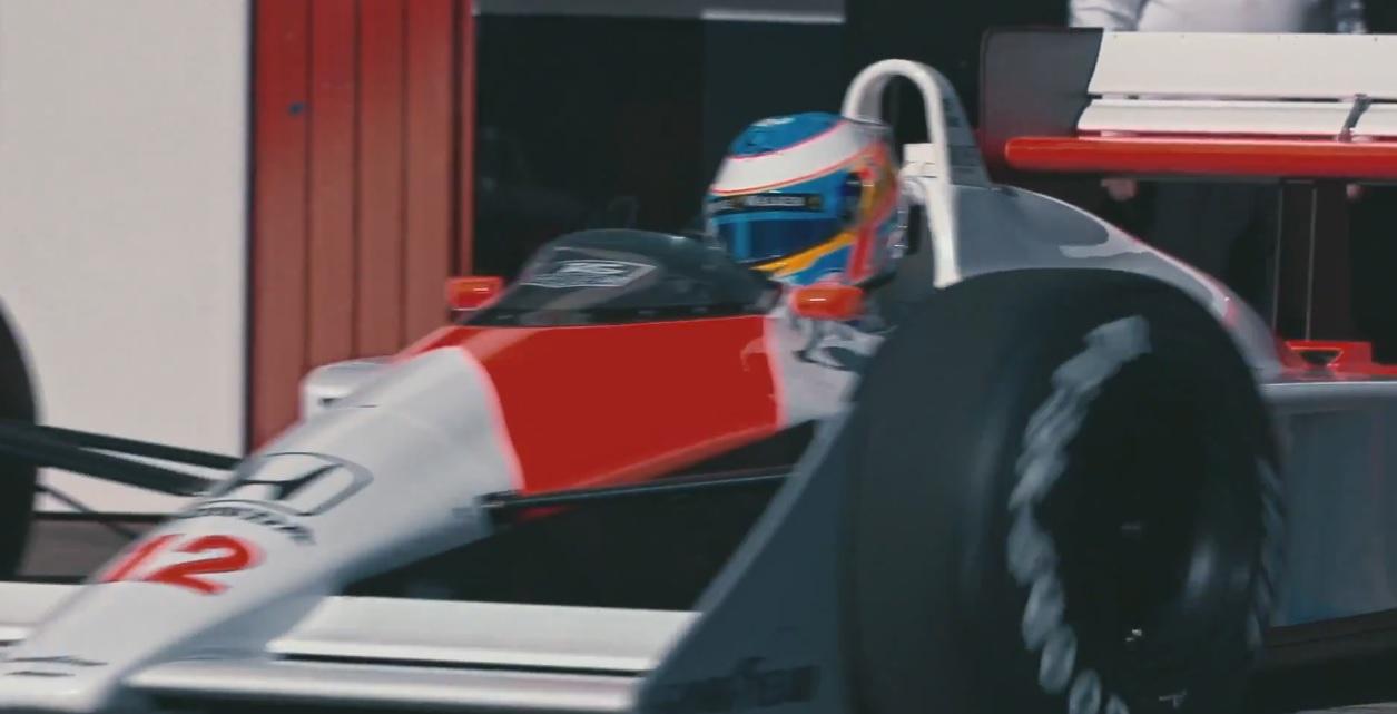 Szenzációs videóval állt elő a McLaren: Alonso és az MP4/4!