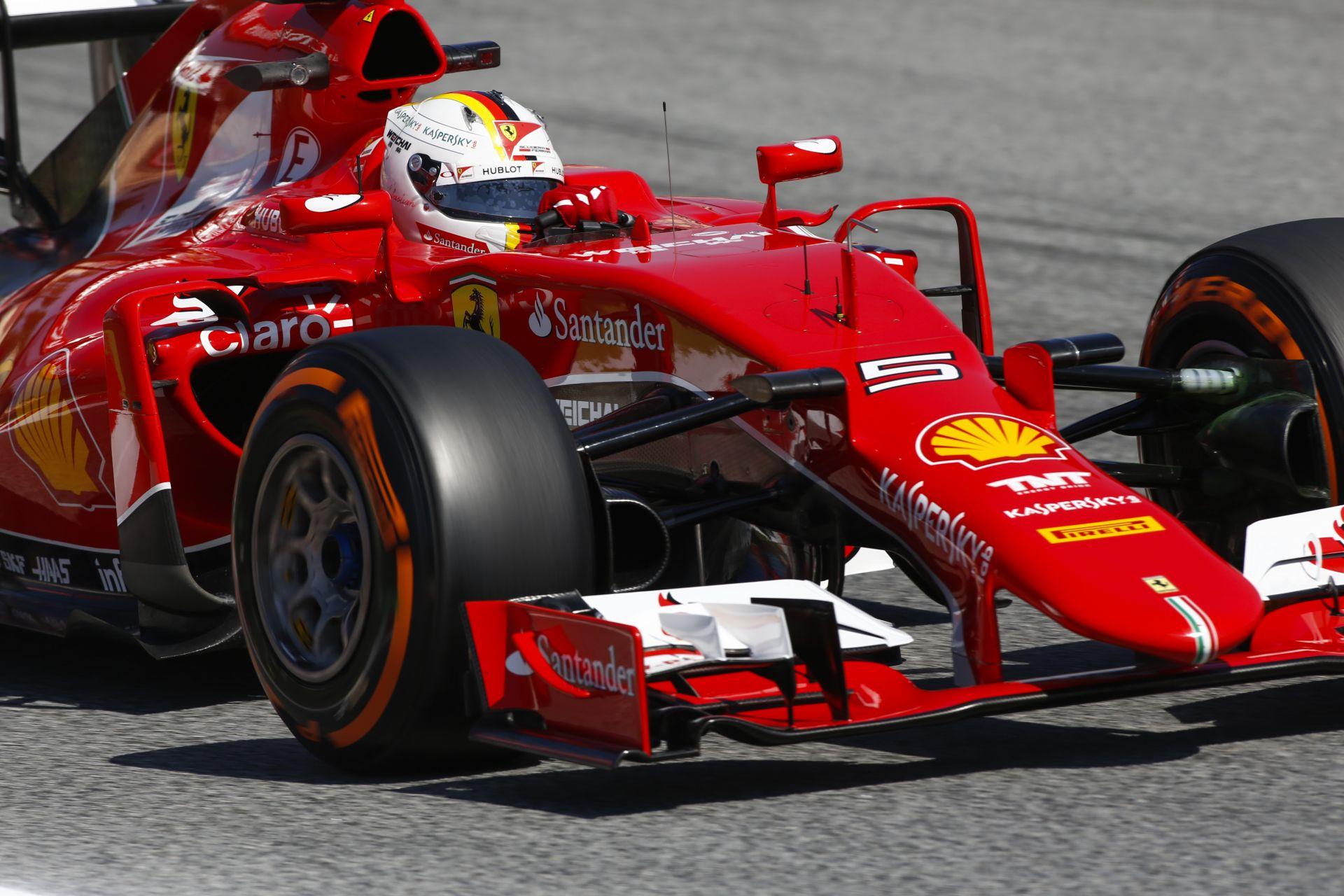 Vettel: Ma a Mercedes egyértelműen gyorsabb volt, mint a Ferrari