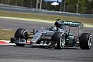 A Mercedes úgy érzi ma két első helyet szereztek Barcelonában