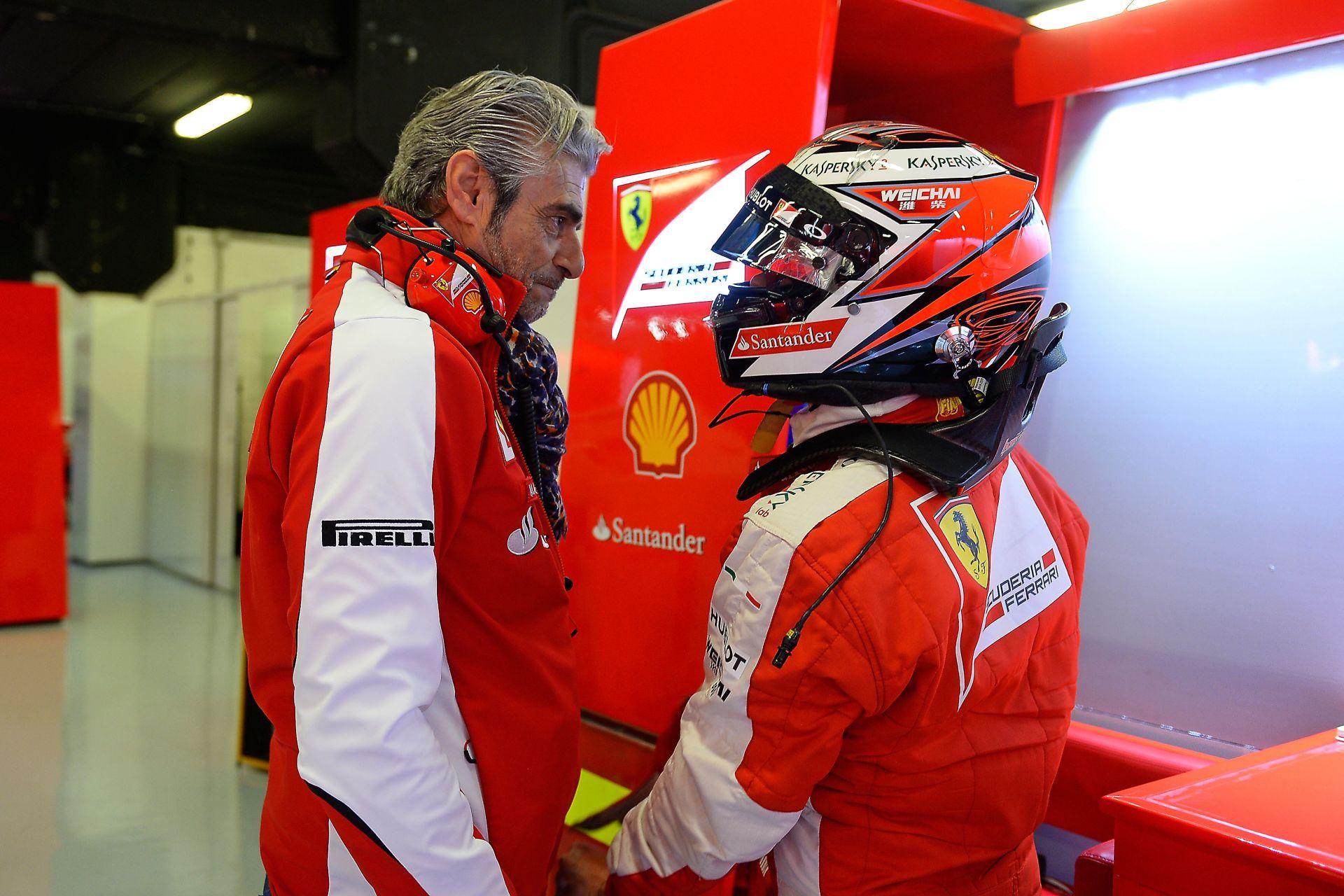 A Ferrarinál Hamilton szóba sem jön, amíg Kimi jól teljesít