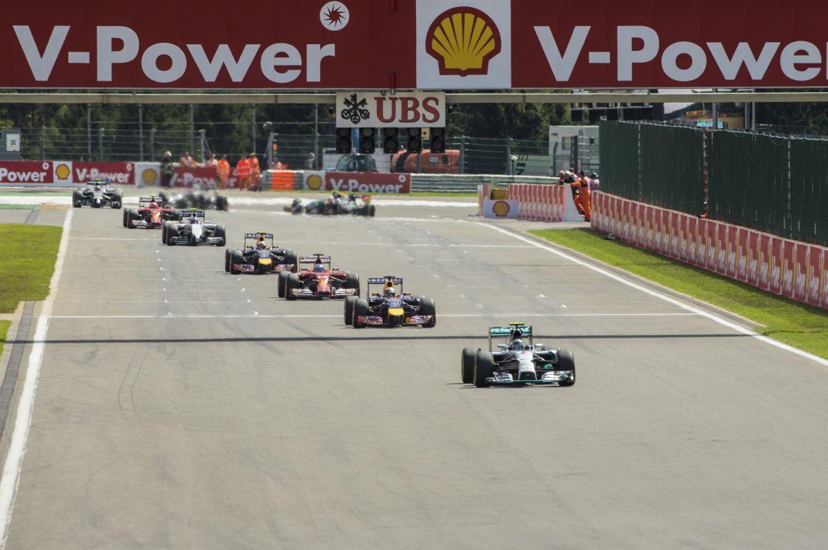 """Először volt gyorsabb a turbós F1, mint a """"régi"""": bő 2 tized Spában, nagyobb végsebesség"""