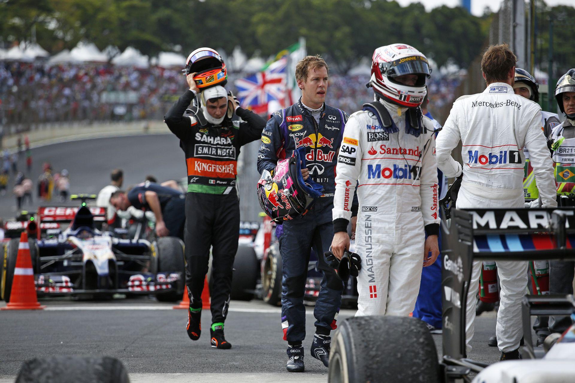 Perez amatőr trehány alakként kezdte - bezzeg Vettel!