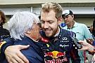 Ecclestone: Nincs gyorsabb versenyző Vettelnél, aki újabb bajnoki címeket nyer majd
