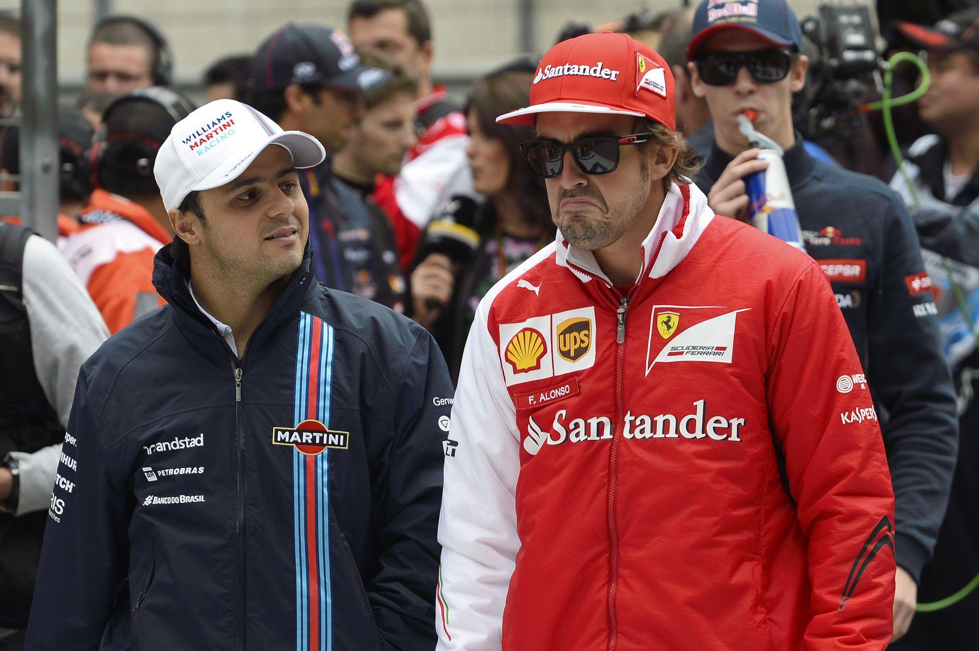 Massa: Alonso nehezen ismeri el, hogy hibát követett el, amikor eljött a Ferraritól