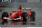 Schumacher megmutatja, hogyan kell vezetni esőben a kanadai pályán! Szenzációs!