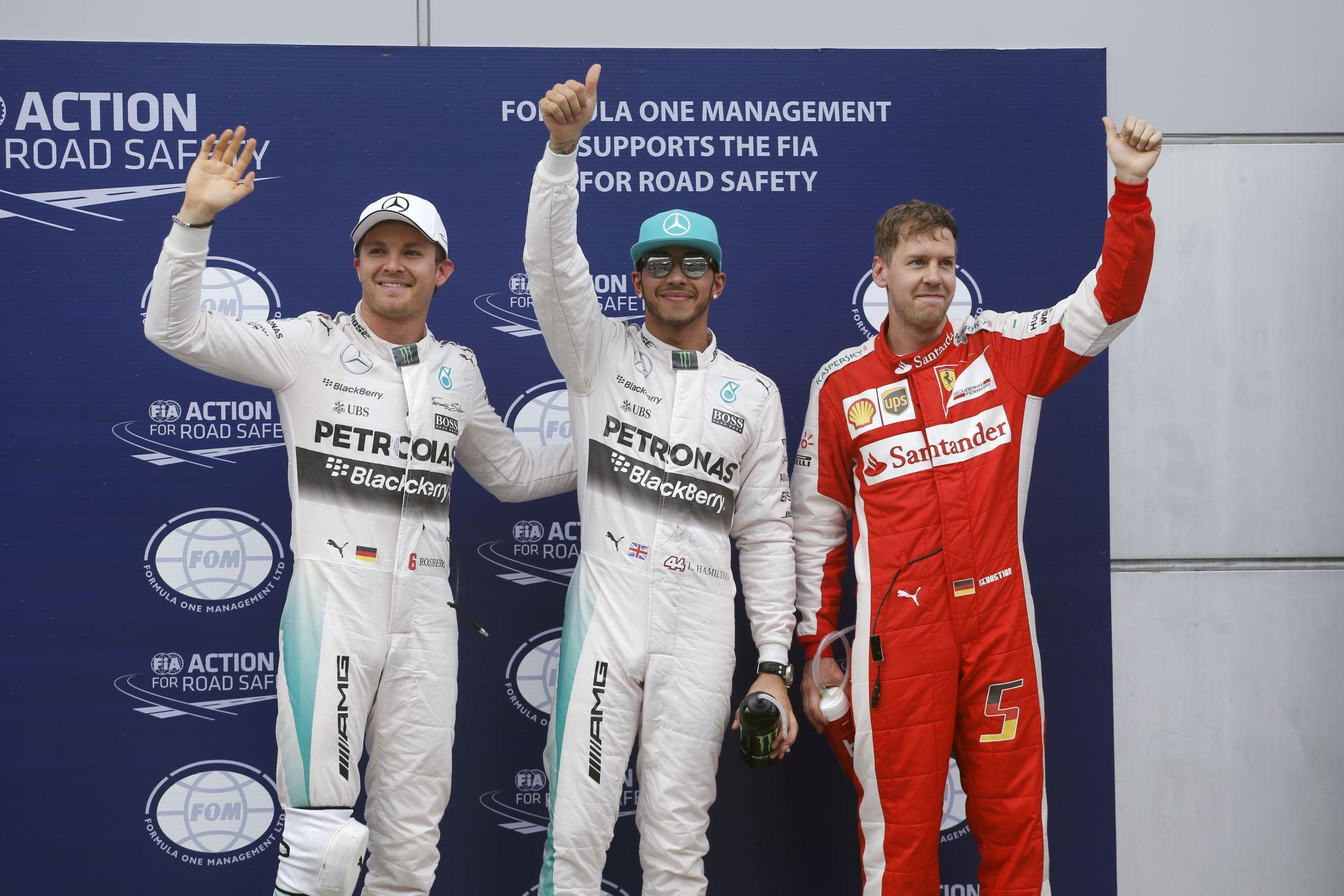 Lewis Hamilton: Vicces, hogy az emberek csapattársaknak hívnak minket Nicoval