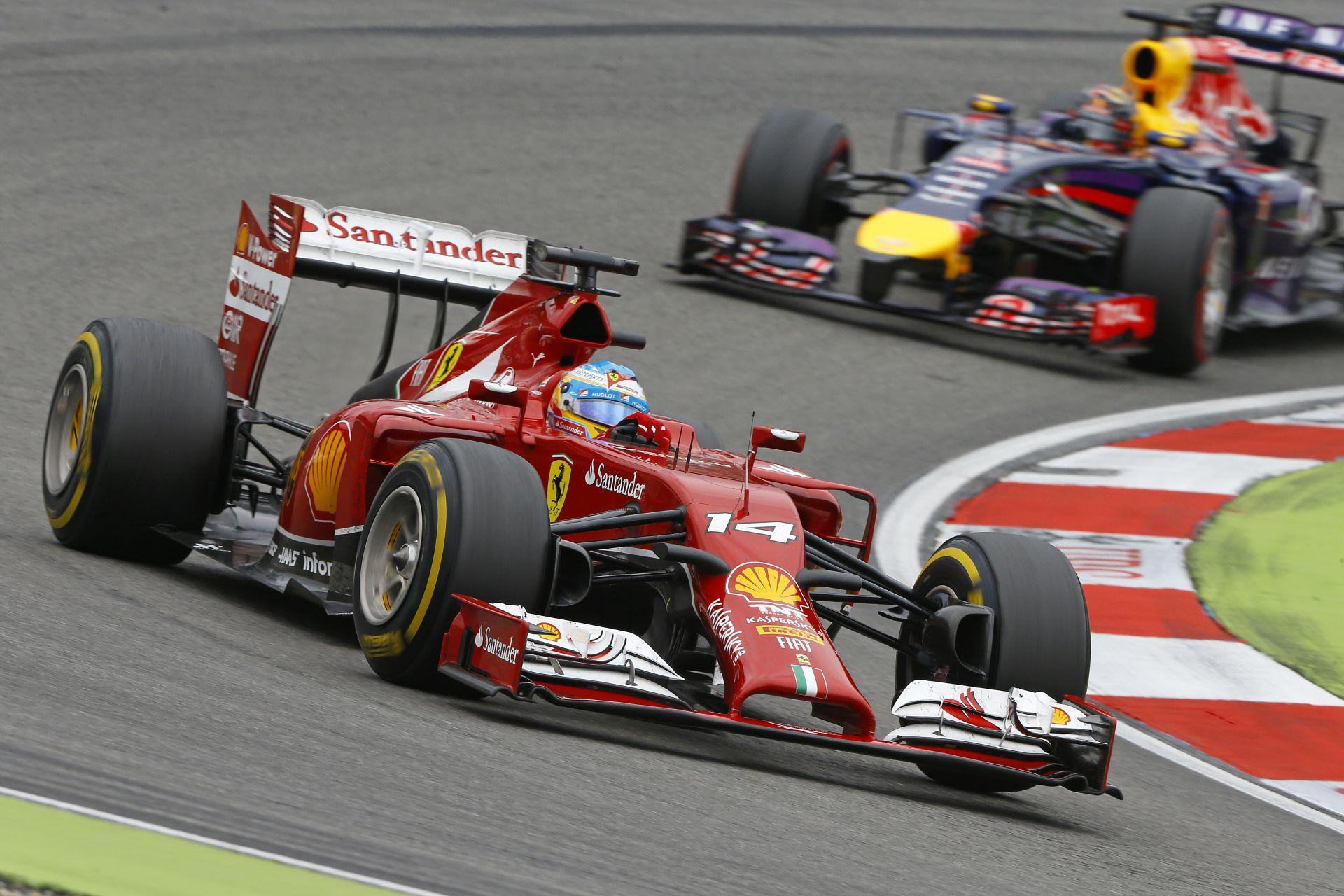 Alonso nem számított arra, hogy Ricciardo ennyire simán veri majd Vettelt
