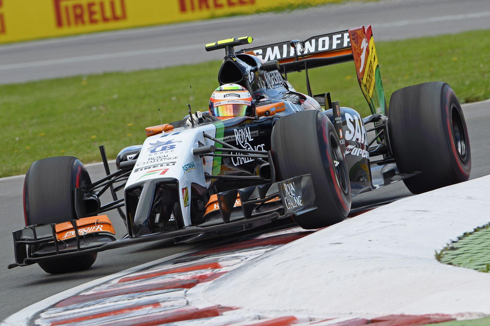 BRÉKING: Pérez 5-helyes rajtbüntetést kapott az Osztrák Nagydíjra! Massa nem volt hibás