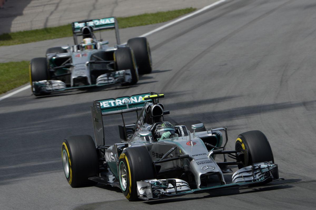 Rosberg csak a szerencsének köszönheti, hogy nem esett ki Kanadában