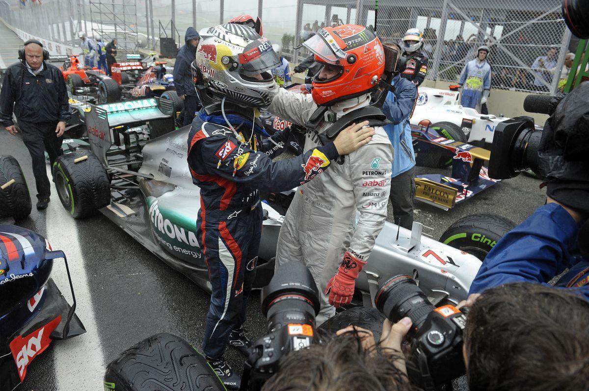 Berger: Schumacher fedezte fel Vettelt, az első köridők után tudtuk, hogy ő egy kincs