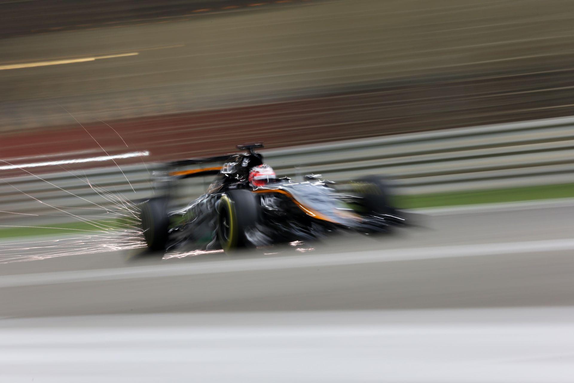 A Force India csalódott a mai eredménnyel