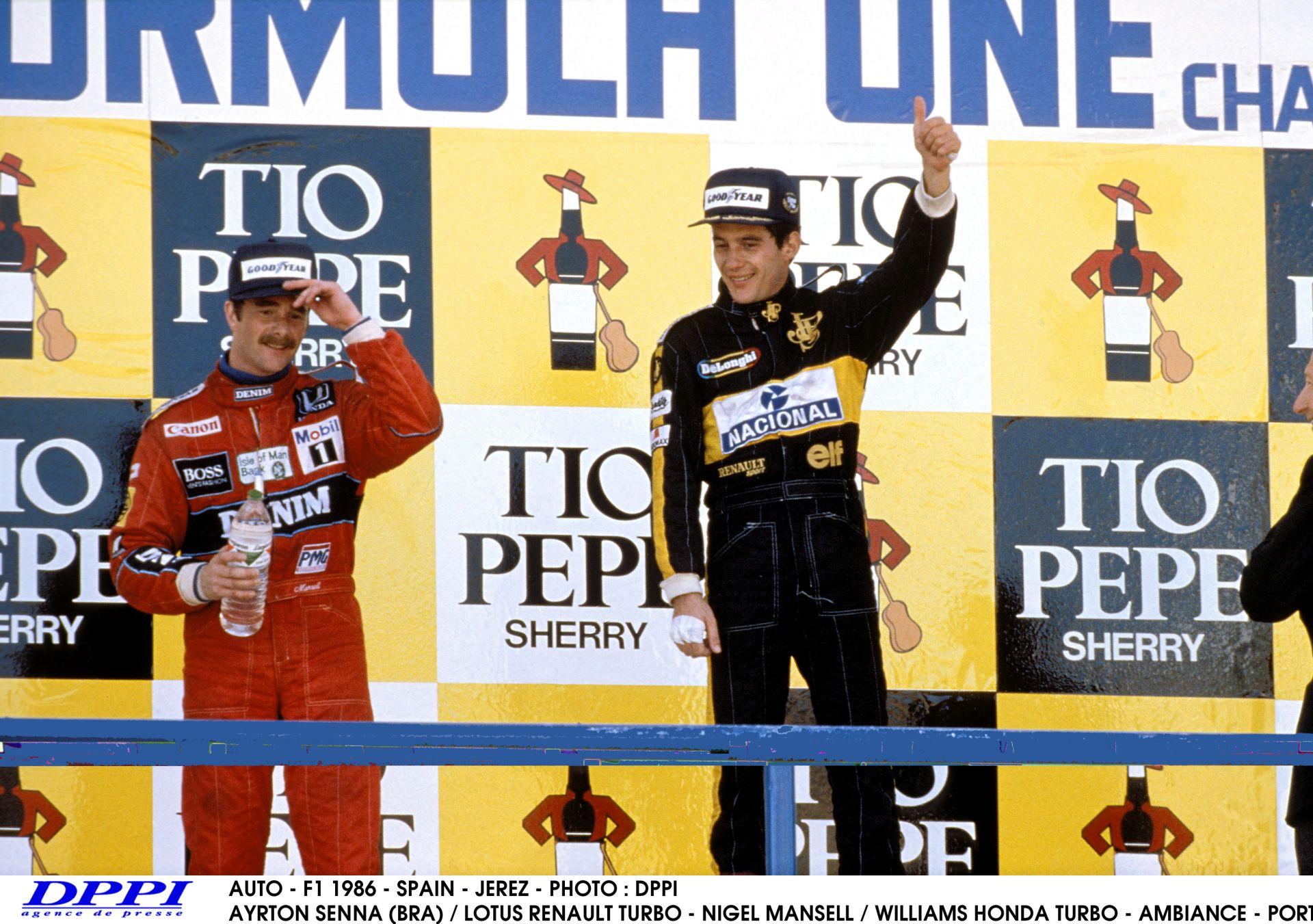 Ayrton Senna újabb legendás győzelme Mansell ellen – 1986, Spanyolország