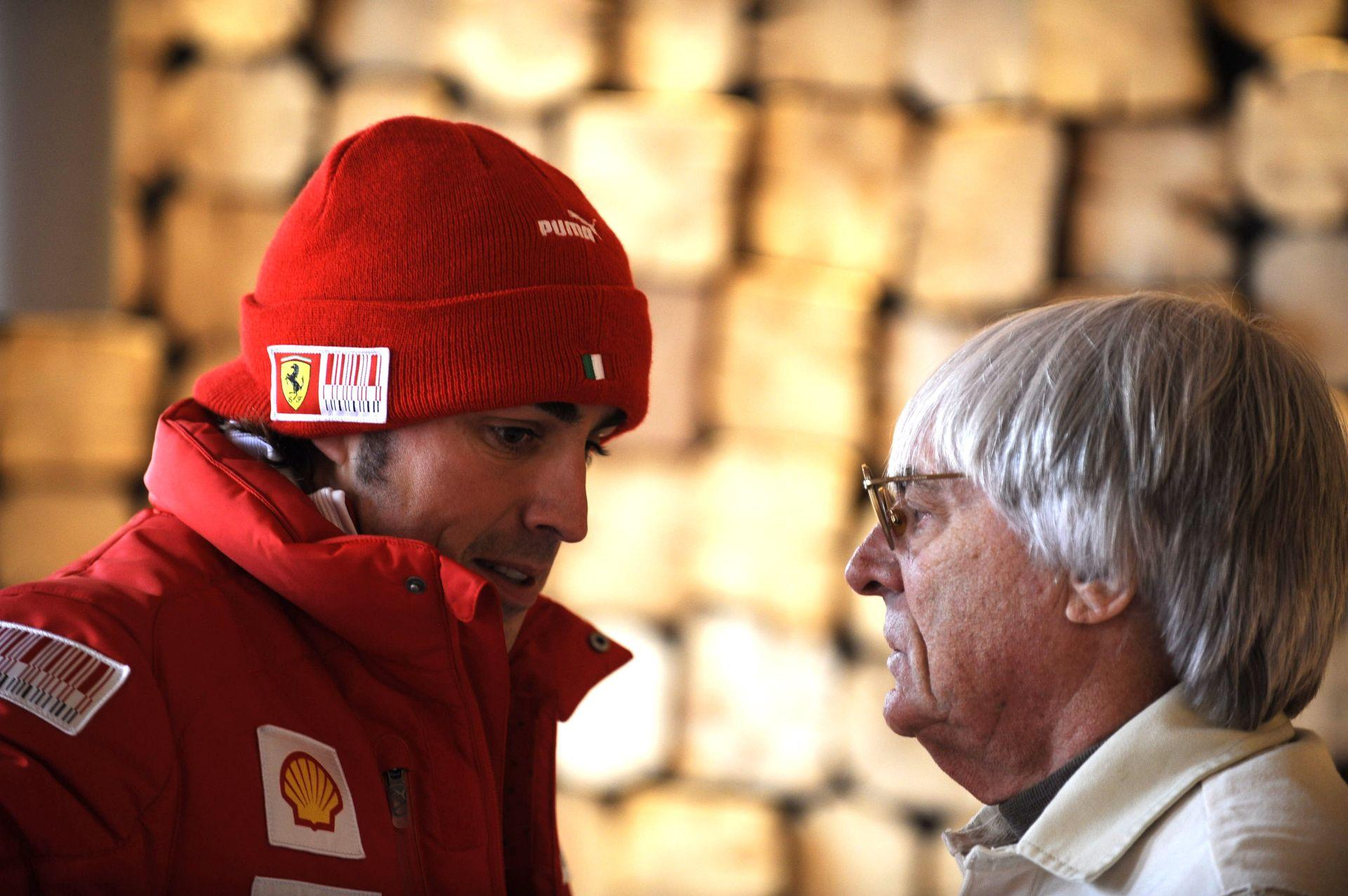 Ecclestone: Olyan, mintha Alonso szélütést kapott volna