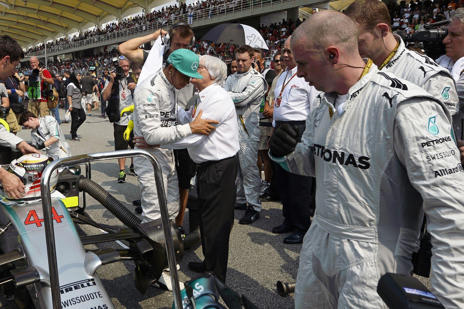 """Bernie Ecclestone megmondja a tutit: """"Mindenemet a Mercedesre tenném!"""""""