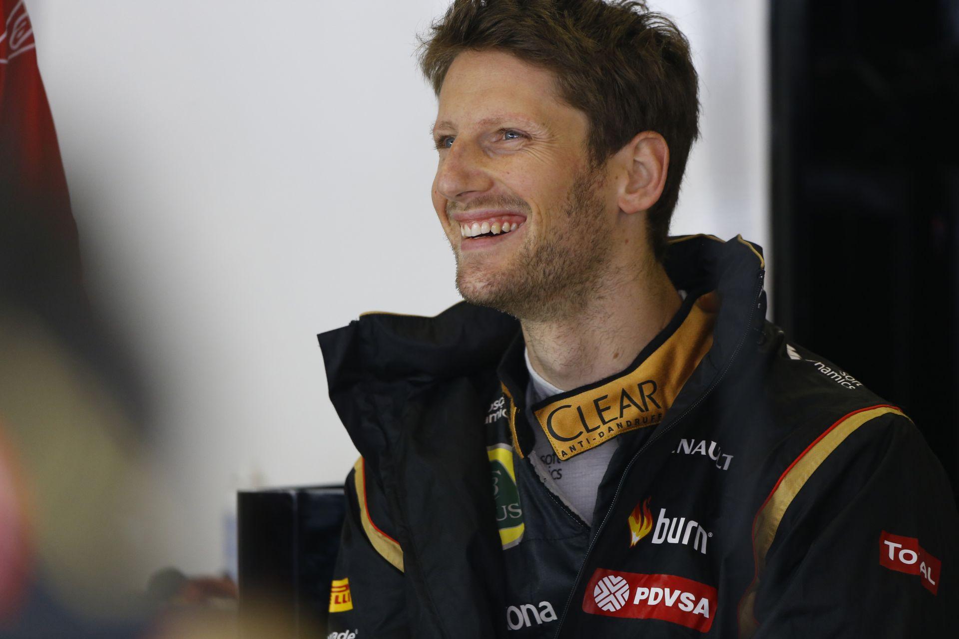 Grosjean: Szép lassan a Lotus is megmutatja, hogy mire is képes igazán
