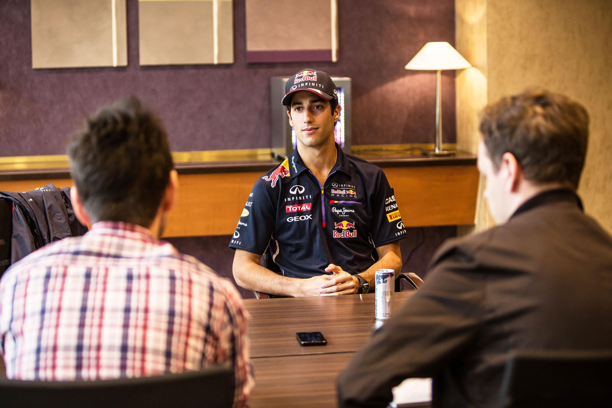 Ricciardo nem szeret veszíteni: ha a Red Bull gyors autót épít, akkor ő hagyni fogja