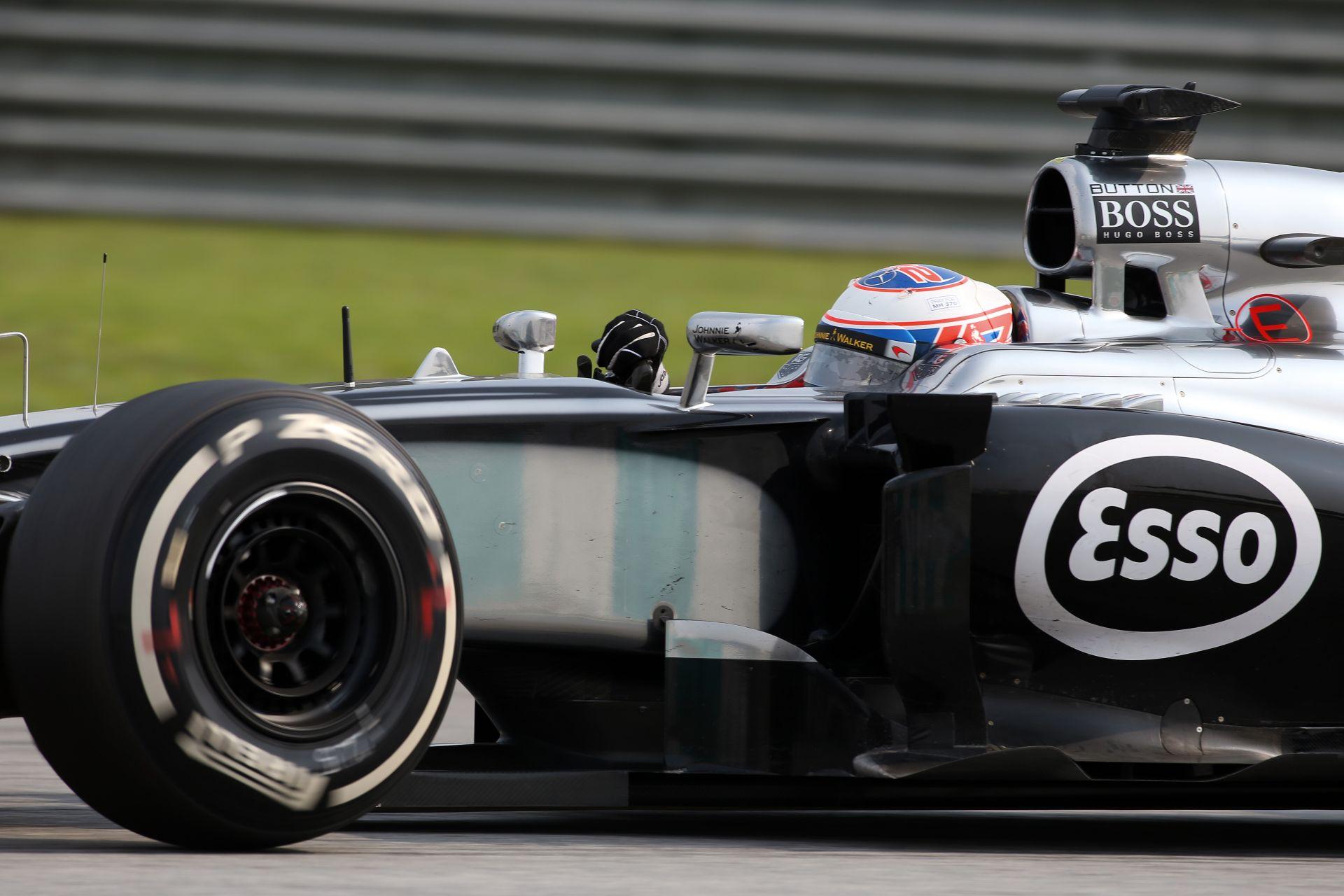 Button most jobban örülne annak, ha egy tapasztalt csapattársa lenne a McLarennél
