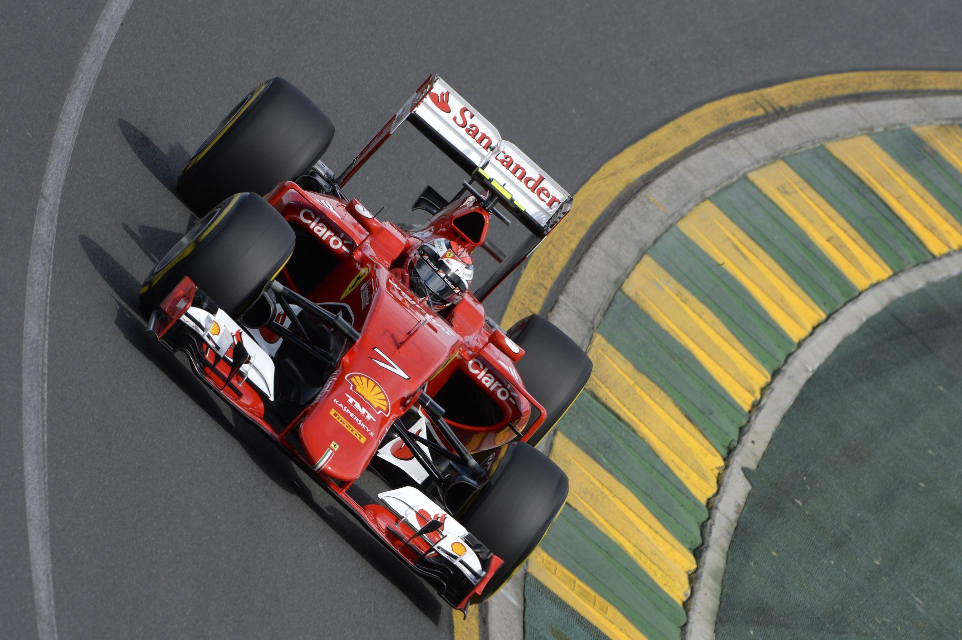 Ferrari: Vettel és Raikkönen szerint is elérhetetlen a Mercedes, de a dobogóra jók lehetnek vasárnap az Albert Parkban
